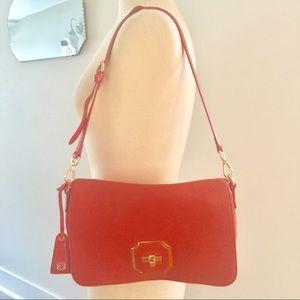 Monet Genuine Leather Handbag/Clutch